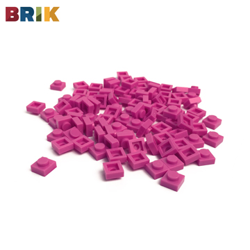 美國BRIK 積木包 (粉紫色)