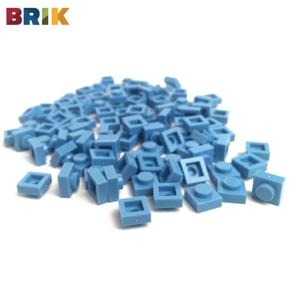 美國BRIK 積木包 (淺藍色)