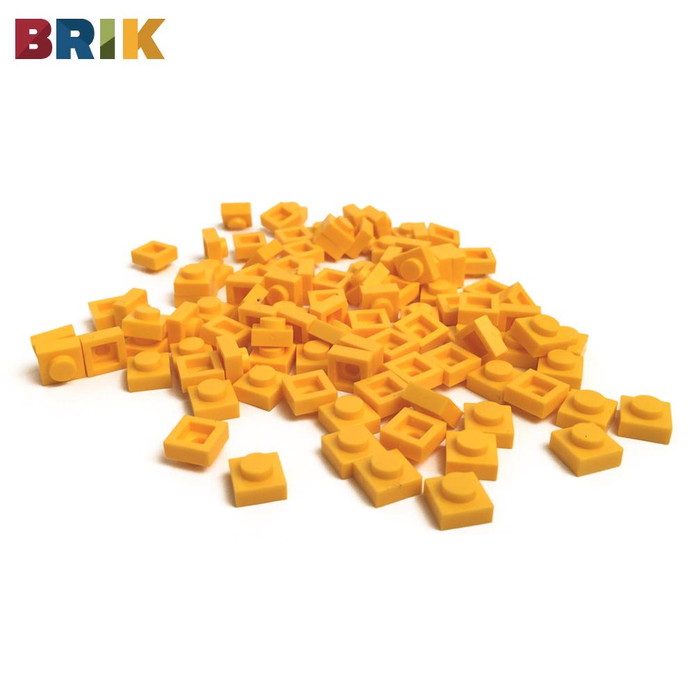 美國BRIK 積木包 (黃色)