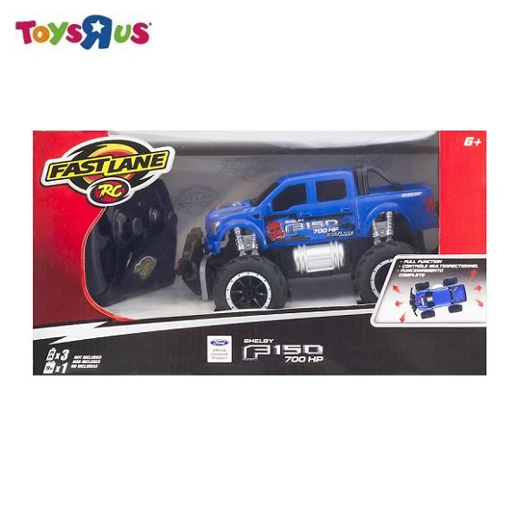 玩具反鬥城 【FAST LANE】1:24 巨輪怪獸遙控車 福特 F-150