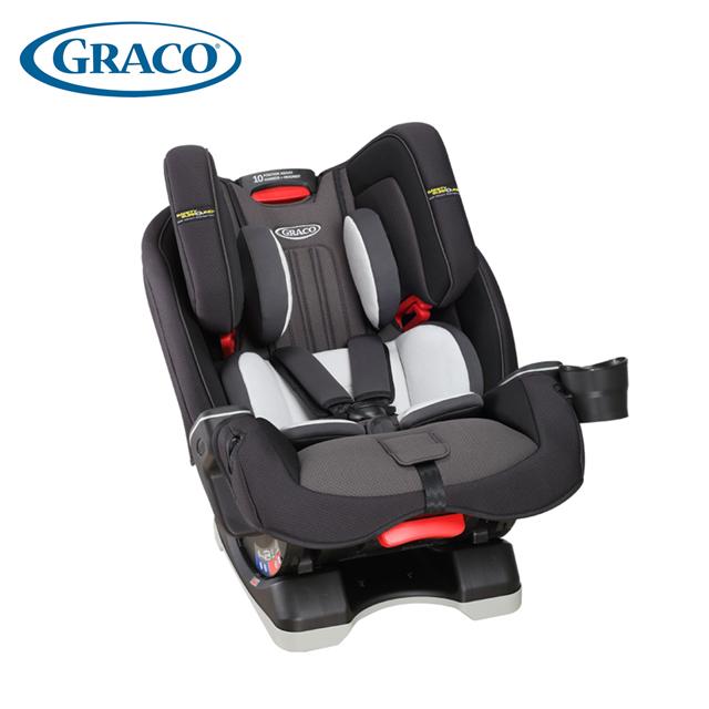 GRACO 0-12歲長效型嬰幼童汽車安全座椅 MILESTONE™ LX-大灰狼