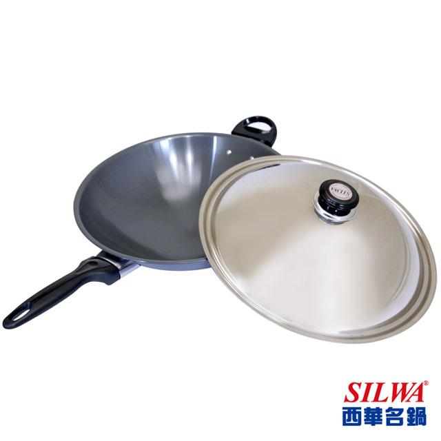 【西華SILWA】冷泉科技超厚合金炒鍋 37cm