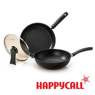 HAPPYCALL鑽石鍋塗層不沾鍋(28cm 雙鍋特惠組)