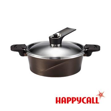 韓國HAPPYCALL真空熱循環IH壓力鍋(24cm淺湯鍋)