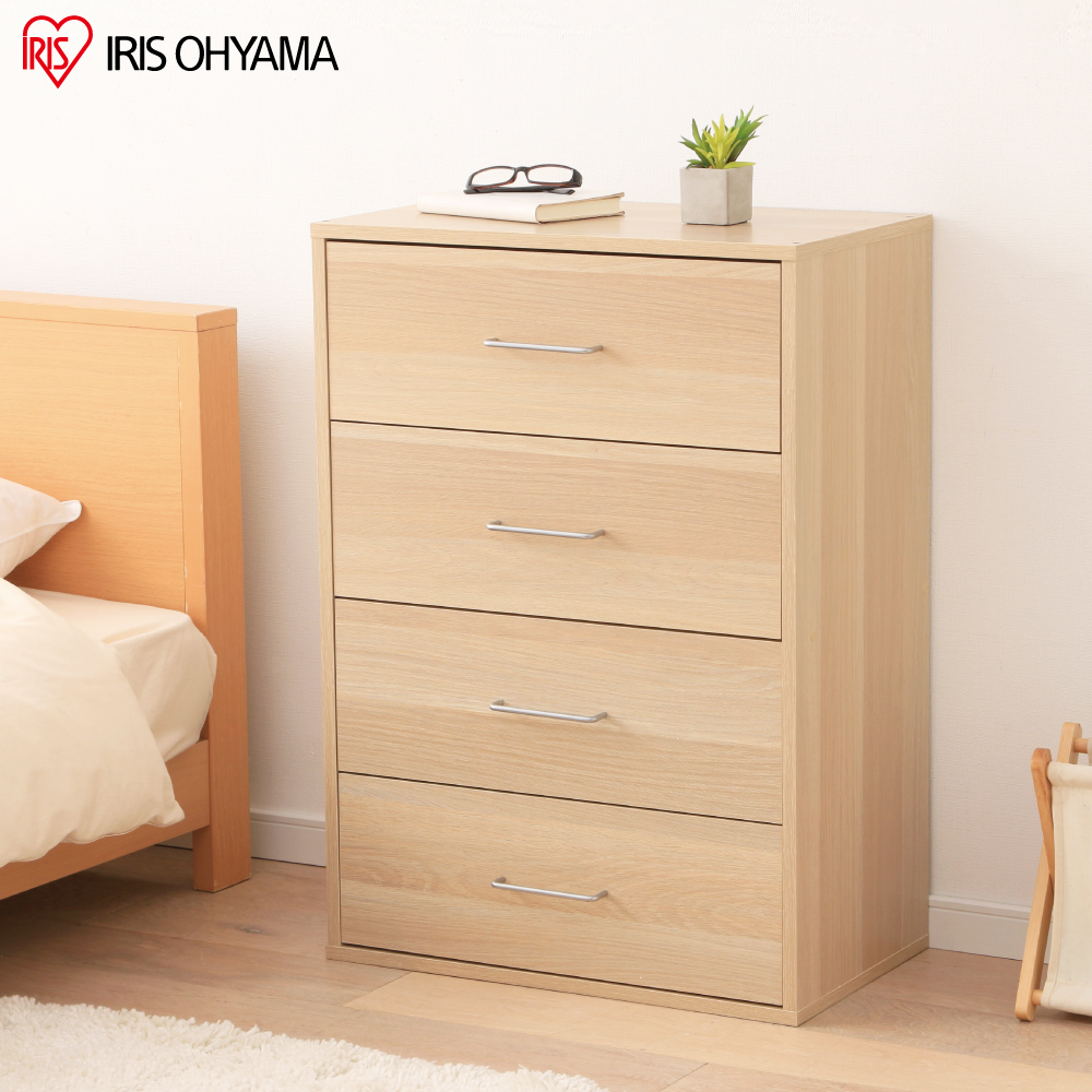 【IRIS OHYAMA】木質抽屜收納櫃 CCT-9060
