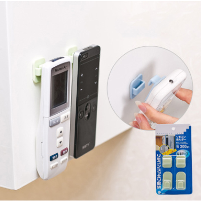多功能黏貼式電視空調遙控器無痕收納掛勾
