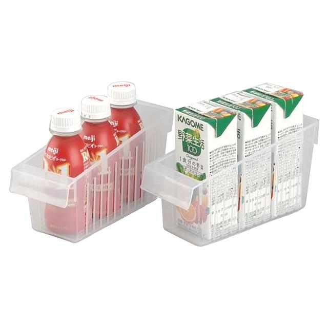 日本製造INOMATA冰箱冷藏拉取式深型收納籃(小)
