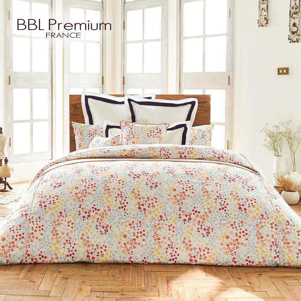 【BBL Premium】100%棉印花兩用被床包組-花果盛夏(雙人)
