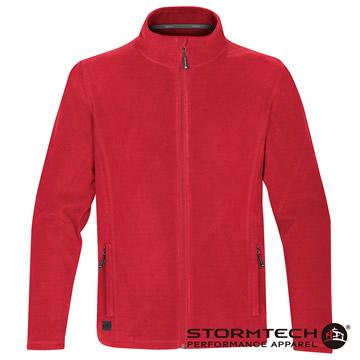【加拿大STORMTECH】VFJ-1中層FLEECE保暖拉鍊外套-男(紅)
