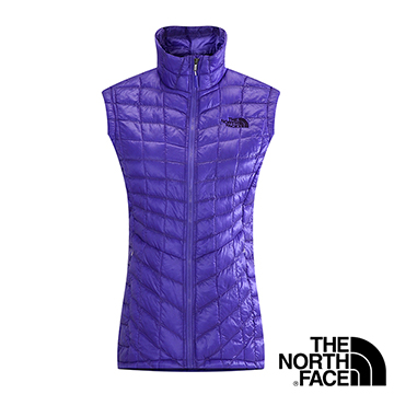 The North Face 女 TB保暖背心 星空紫 CUD6BDZ