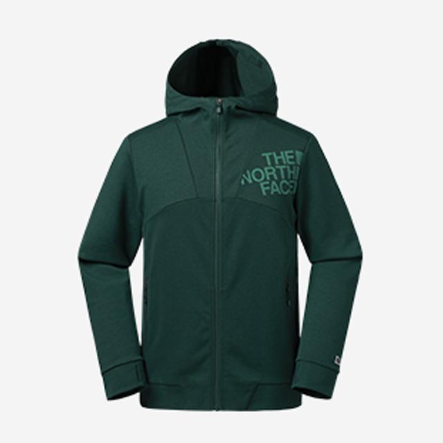 The North Face 男 超輕量時尚連帽保暖刷毛外套-NF0A365UHCD
