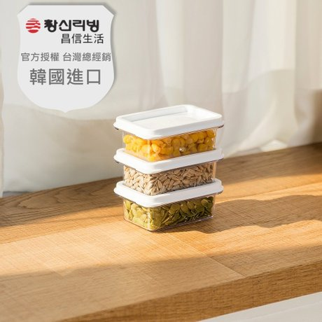 【韓國昌信生活】SENSE冰箱系列1號保鮮盒-120ml x3
