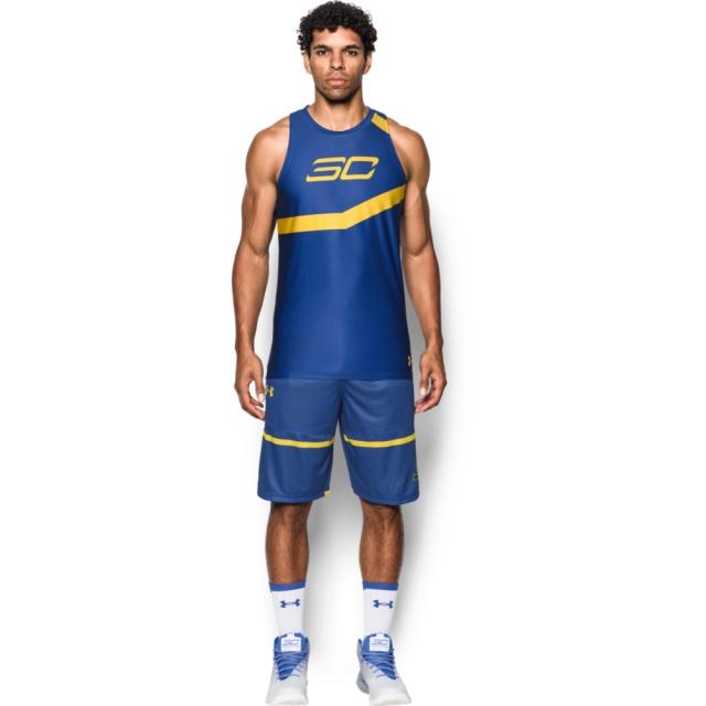 【UNDER ARMOUR】男 HG SC30 Core Base籃球背心 皇家藍