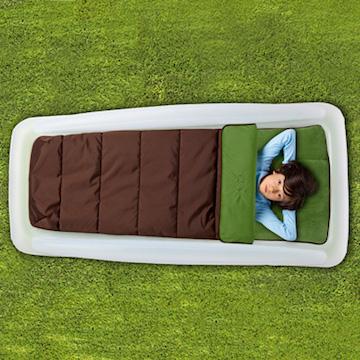 加拿大 The Shrunks 舒朗可 戶外兒童防踢被露營充氣床
