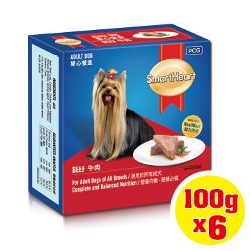 【SmartHeart】慧心餐盒 - 牛肉口味 100g (6入/盒)