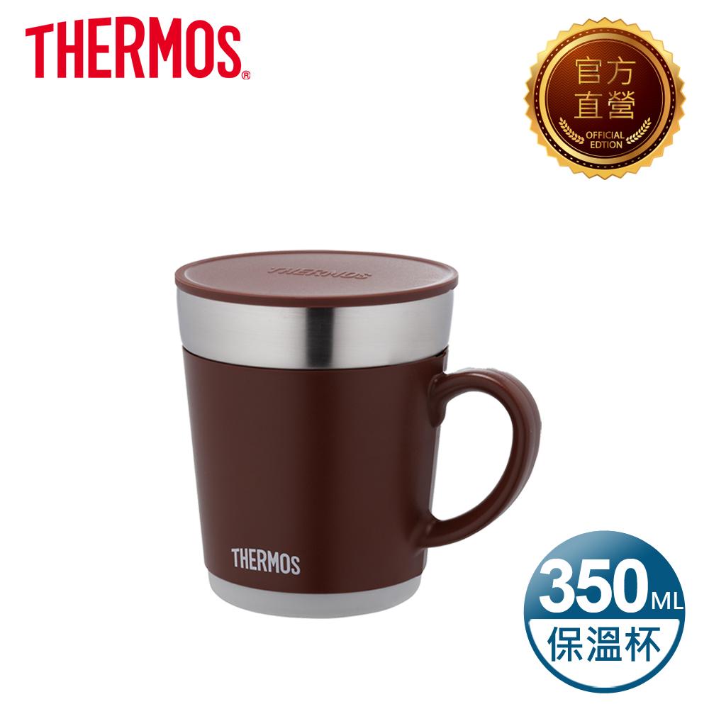 THERMOS 膳魔師 不鏽鋼真空保溫杯0.35L(JDC-350-BW)