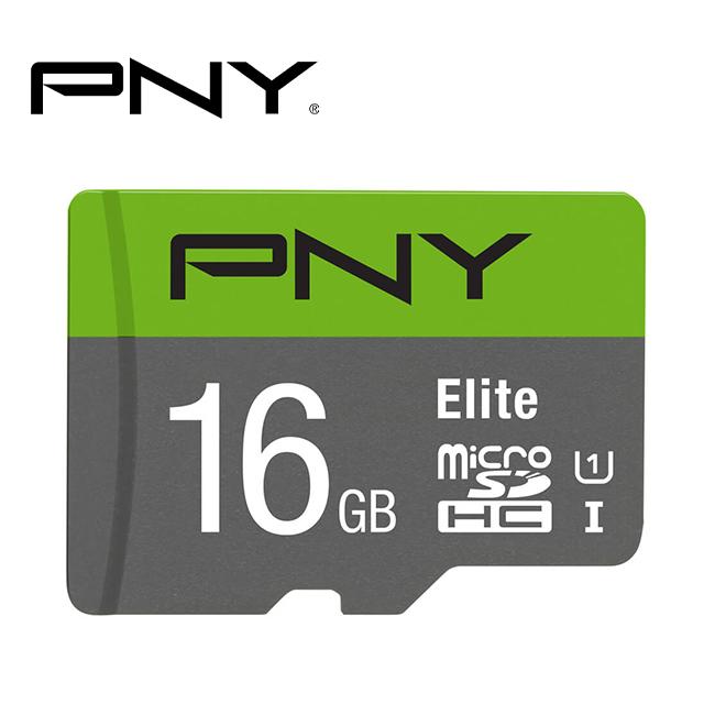 PNY MicroSDHC Elite U1 記憶卡 16GB