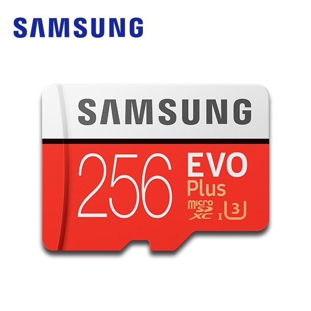 SAMSUNG 三星 EVO Plus microSDXCUHS-1(U3) Class10256GB記憶卡