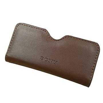 SONY原廠咖啡手機皮套