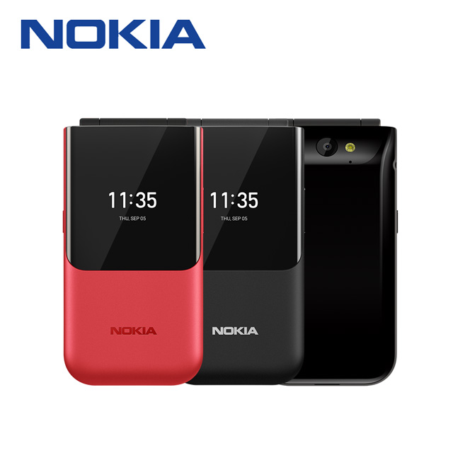 Nokia 2720 Flip 4G復刻摺疊手機