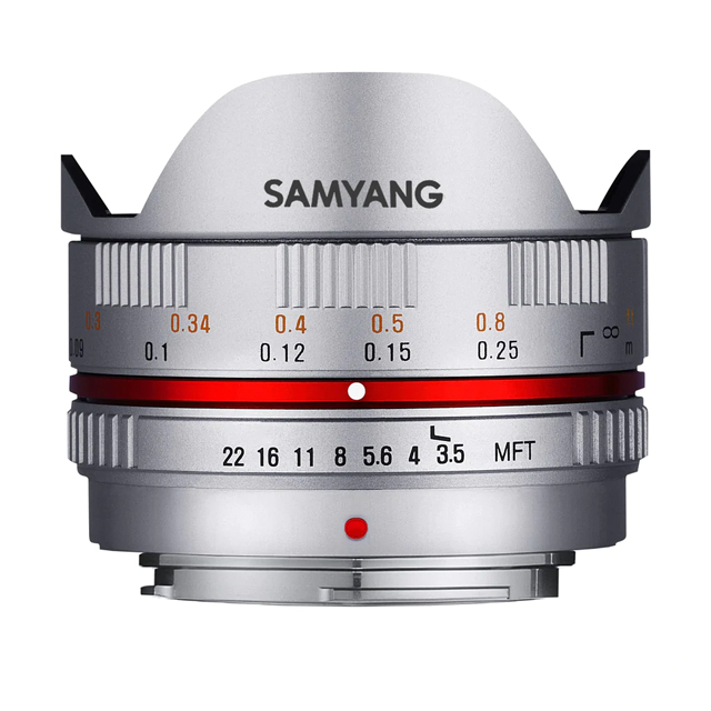 SAMYANG 7.5mm F3.5 UMC Fish-eye FOR M4/3 微單眼手動鏡頭 (公司貨)