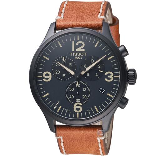 T1166173605700 TISSOT天梭 韻馳系列 Chrono XL 計時時尚腕錶