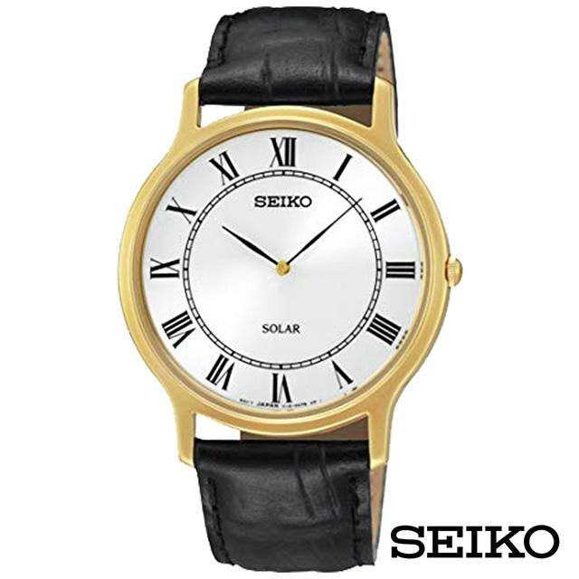 SEIKO精工 築造偉業太陽能石英腕錶 SUP878P1