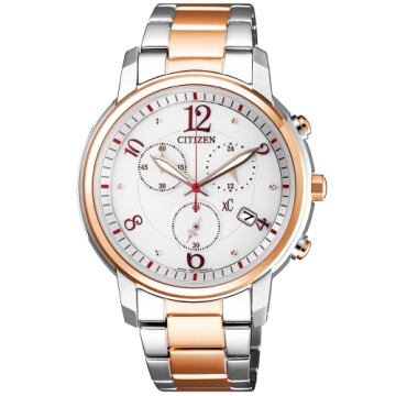 CITIZEN XC甜美迎人光動能時尚腕錶/FB1435-57A