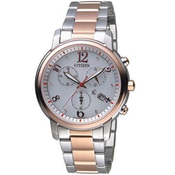 CITIZEN 星辰  FB1435-57A xC系列自信魅力計時腕錶