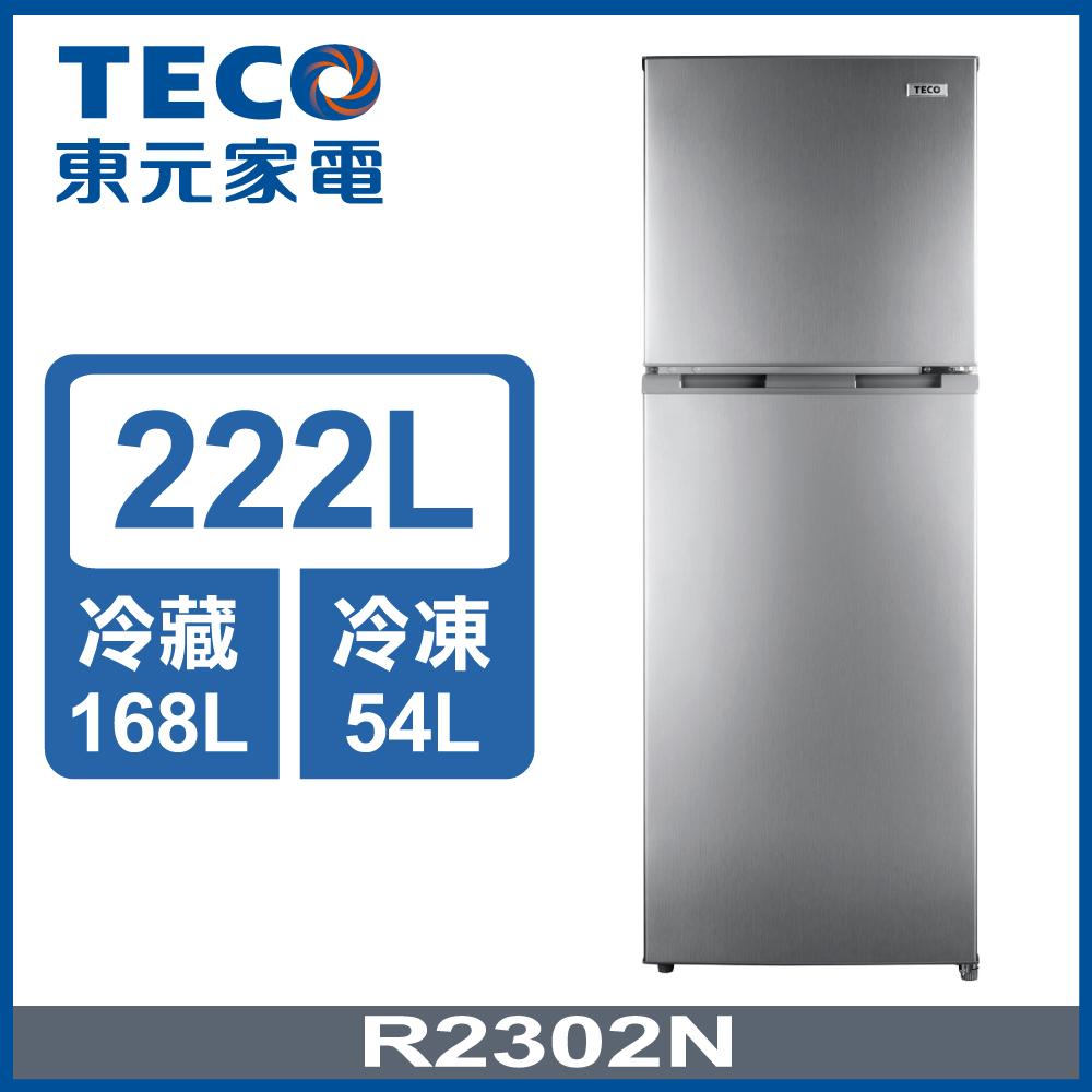 TECO東元 222公升雙門冰箱 R2302N