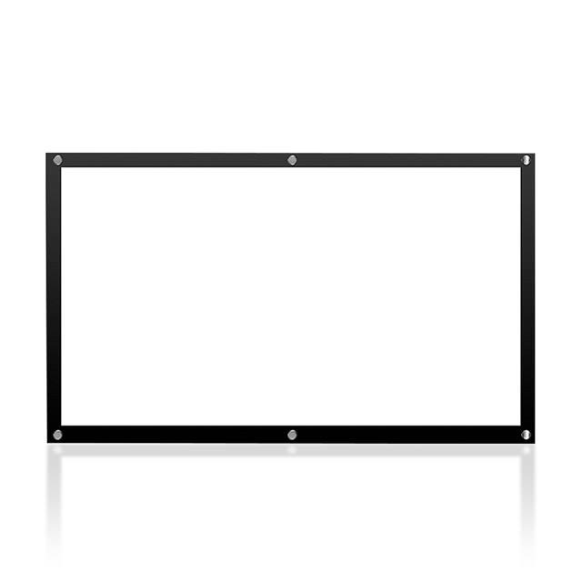 100吋投影機高清布幕