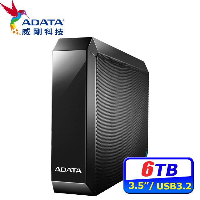 ADATA威剛 HM800 6TB 3.5吋外接硬碟