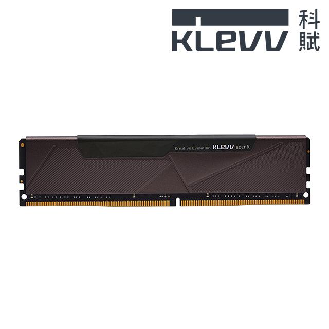 KLEVV 科賦 BOLT X DDR4 3200 8G 桌上型記憶體