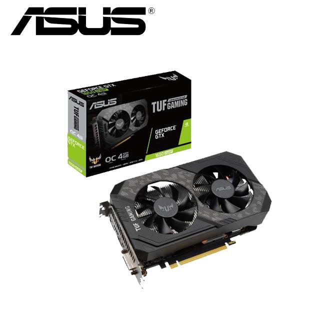 華碩ASUS TUF GeForce® GTX 1650 SUPER™ O4G GAMING 顯示卡
