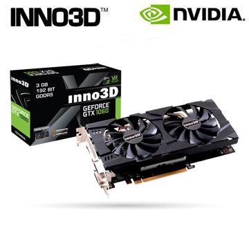 映眾 Inno3D GeForce GTX 1060 3GB GDDR5 Twin X2 顯示卡