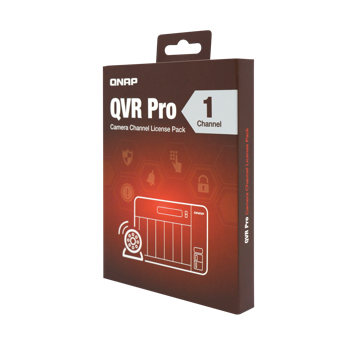QNAP 威聯通 QVR Pro LIC-SW-QVRPRO-1CH 攝影機頻道擴充授權-1個頻道