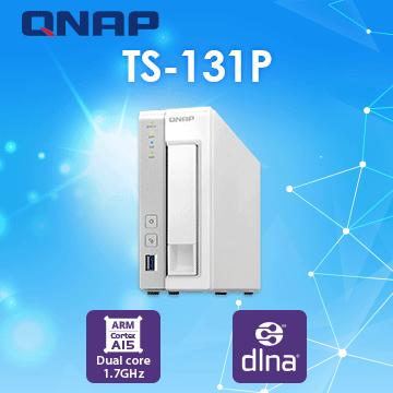 [Seagate IronWolf Pro 8TB*1] QNAP TS-131P 1Bay NAS