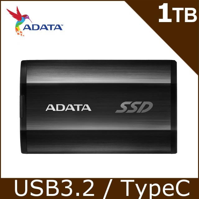 威剛 SSD SE800 1TB 外接式固態硬碟SSD(黑)