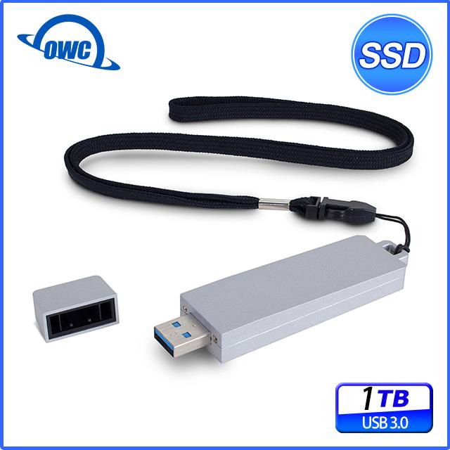1.0TB - OWC Envoy Pro mini (便攜式的 USB 3.0 SSD 儲存裝置)