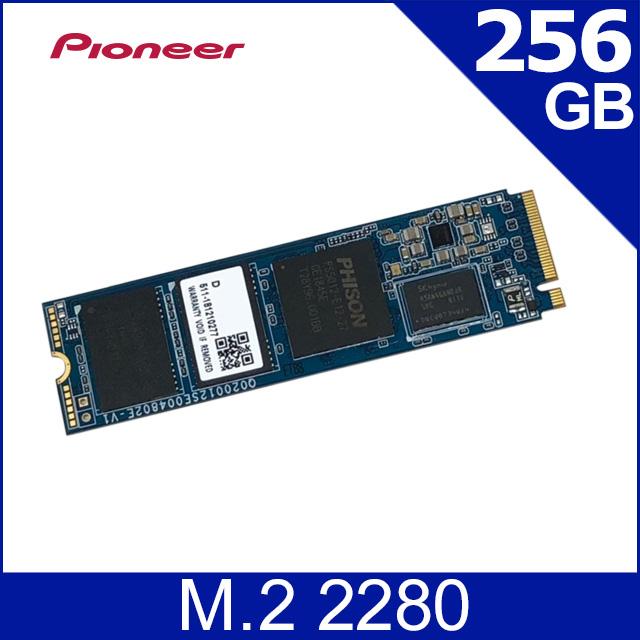 Pioneer APS-SE20G 256GB M.2固態硬碟