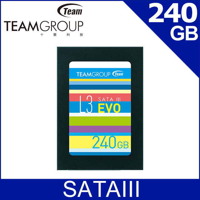 Team 十銓 L3 EVO 240GB 2.5吋 SSD固態硬碟