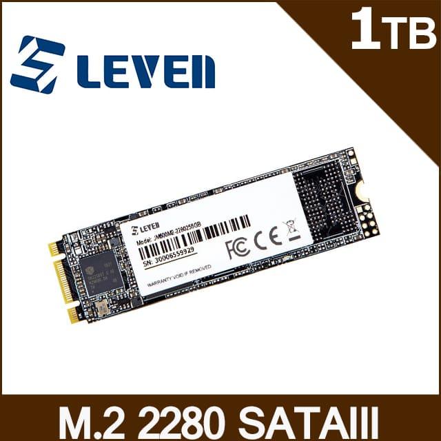 LEVEN JM600系列 1TB M2 SATA III SSD固態硬碟