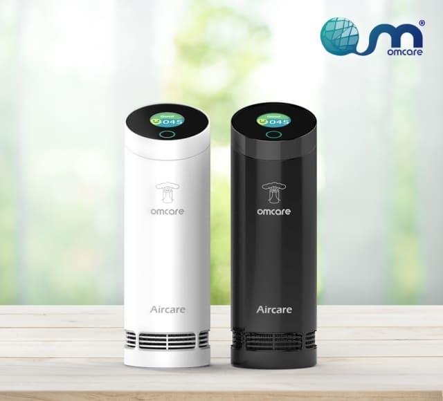 Omcare【原廠】便攜式智能數顯空氣清淨機附贈10片濾網+擴香石