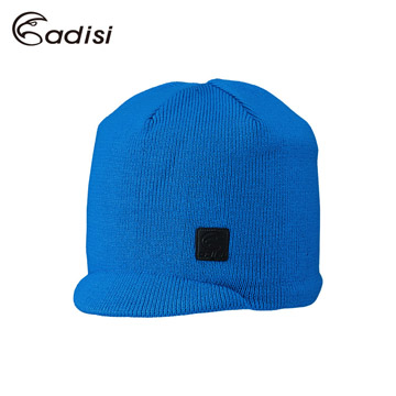 ADISI 短眉針織保暖帽AS16111 寶藍