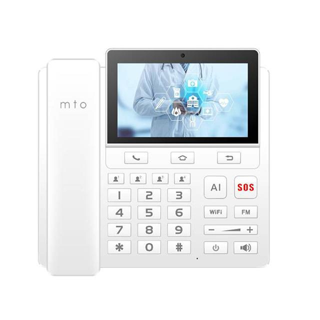 mto M9 AI座機式智慧型電話-白