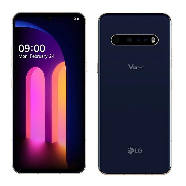 【福利品】LG V60 ThinQ 5G (8G/256G) 6.8吋雙螢幕智慧手機