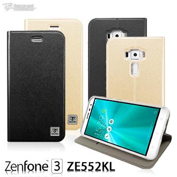 Metal-Slim ASUS ZenFone 3 ZE552KL 原廠皮料站立皮套
