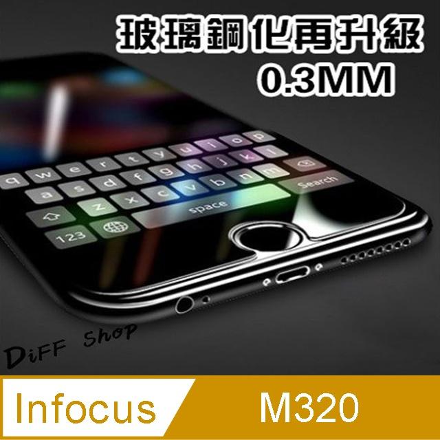 硬度9H鋼化玻璃保護貼 InFocus M320 鋼化玻璃膜 手機膜