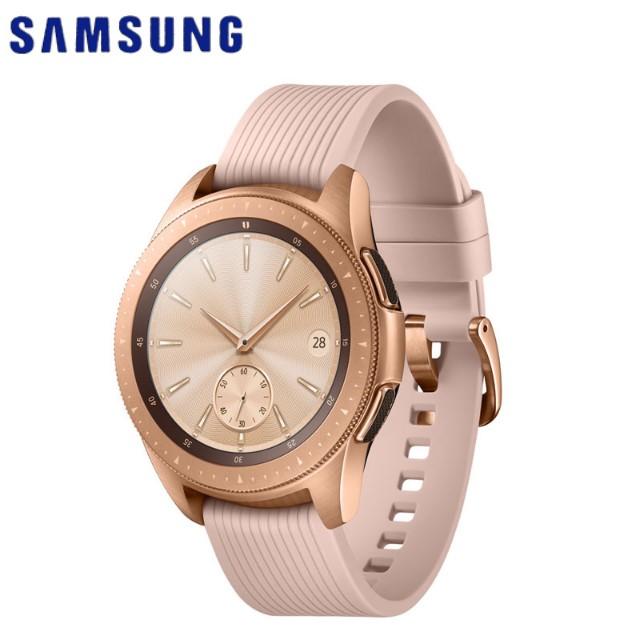 Samsung Galaxy Watch 智慧型手錶 (42mm)-玫瑰金