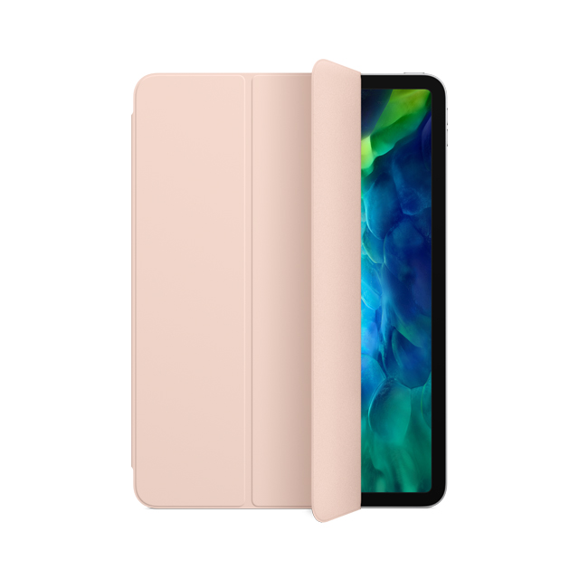 聰穎雙面夾,適用於11吋 iPad Pro (第2代) - 粉沙色 Smart Folio - Pink Sand (MXT52FE/A)